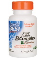 Doctors Best Fully Active B-Complex 30 kaps.