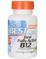 Doctors Best Fully Active B-12 1500 mcg 60 weg.kaps.