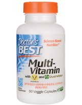Doctors Best Multi-Vitamin 90 vcaps.