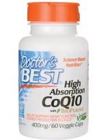 Doctors Best Koenzym Q10 Bioperine 400 mg 60 weg.kaps.