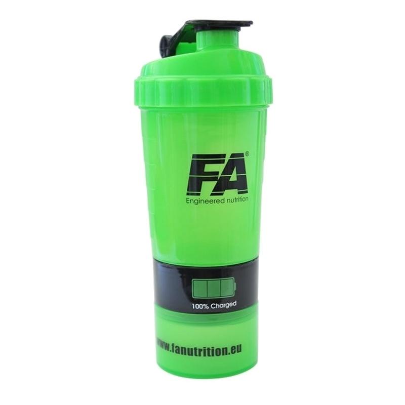 FA Spider Bottle Green Neon 500 ml