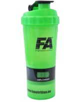 FA Spider Bottle Green Neon 500 ml