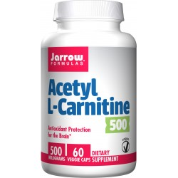 JARROW Acetyl L-Carnitine 500mg 60 vcaps.