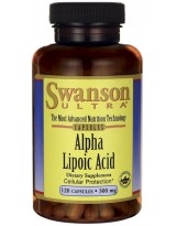 SWANSON ALA 300 mg 120 kaps.