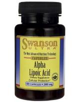 SWANSON ALA 300 mg 60 kaps.