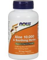 NOW FOODS Aloe 10,000 & Soothing Herbs 90 weg.kaps.