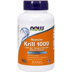 NO FOODS Neptune Krill Oil 1000 mg 60 kaps.