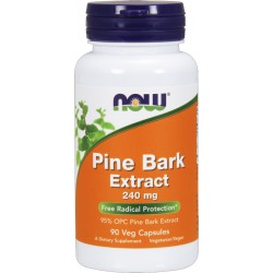 NOW FOODS Pine Bark Extract 240 mg 90 weg.kaps.