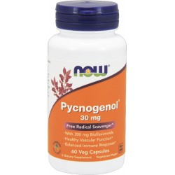 NOW FOODS Pycnogenol 30 mg 60 weg.kaps