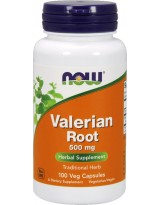 NOW FOODS Waleriana 500 mg 100 weg.kaps.