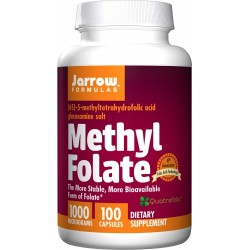 JARROW Methyl Folate 1000 mcg 100 kaps.