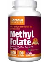 JARROW FORMULA Methyl Folate 1000 mcg 100 kaps.