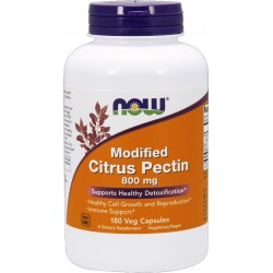 NOW FOODS Modified Citrus Pectin 800mg 180 weg.kaps.