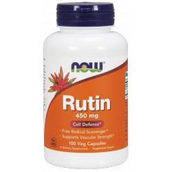 NOW FOODS Rutin 450 mg 100 weg.kaps