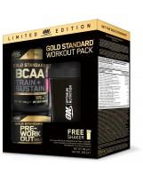Zestaw OPTIMUM Gold Standard BCAA + PRE + Shaker