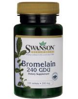 SWANSON Bromelain 200 mg 100 tablets