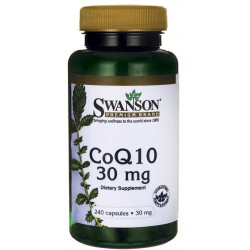 SWANSON Koenzym Q10 30 mg 240 kaps.