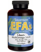 SWANSON Multi Omega 3-6-9 120 kaps.