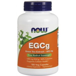 NOW FOODS EGCG Green Tea 400mg 180 weg.kaps.