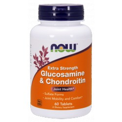 NOW Foods Glucosamine & Chondroitin - 60 tabl.