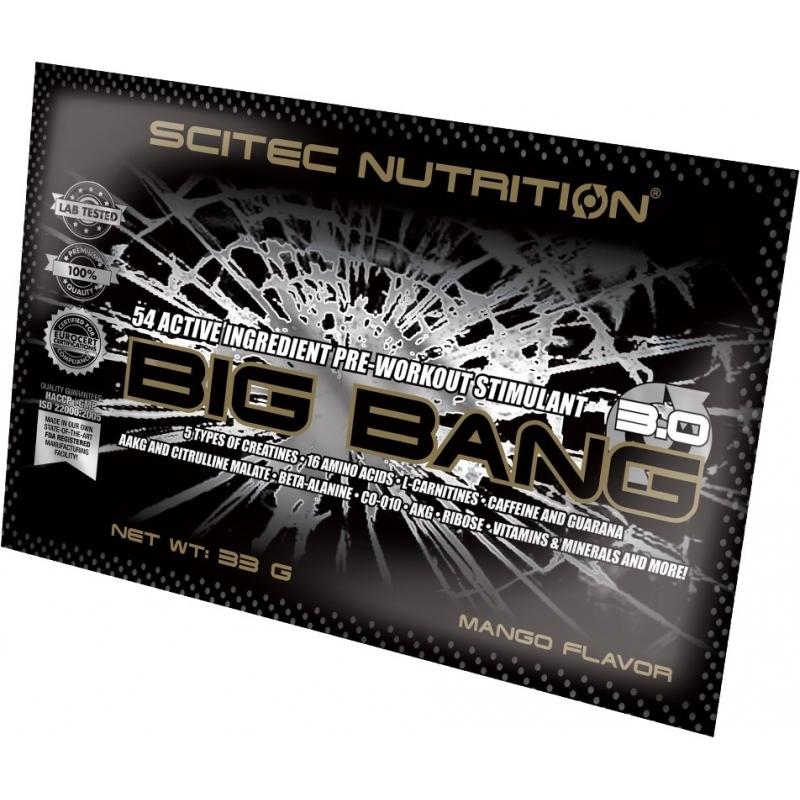 SCITEC Big Bang 3.0 33g Mango