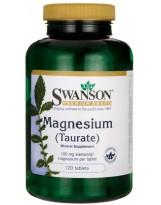 SWANSON Taurynian Magnezu 100 mg 120 tabl.
