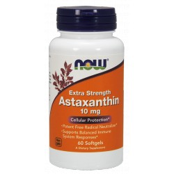 NOW FOODS Astaxanthin 10mg 60 kaps.