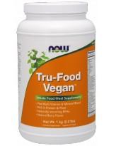 NOW FOODS Tru-Food Vegan Natural 1000 g