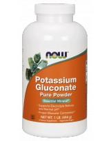 NOW FOODS Potassium Gluconate 454 g