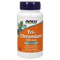 NOW FOODS Tri-Chromium 500mcg 90 vcaps.