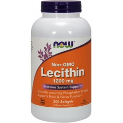 NOW Foods Lecytyna 1200 mg - 200 capsules