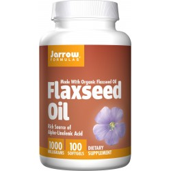 JARROW Flaxseed Oil 100 kaps.