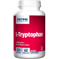 JARROW L-Tryptofan 500 mg 60 vcaps.