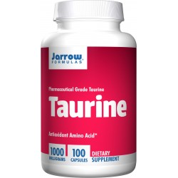 JARROW Taurine 1000 mg 100 kaps.