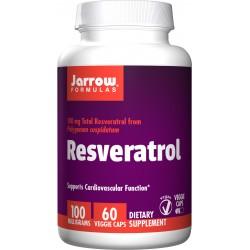 JARROW Resveratrol 100 mg 60 weg.kaps.