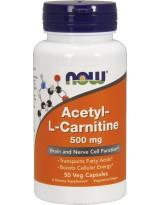 NOW FOODS N-Acetyl L-Carnitine 500 mg 50 kaps.
