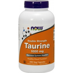 NOW FOODS Tauryna 1000mg 250 vcaps.
