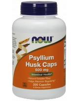 NOW FOODS Psyllium Husk 500 mg 200 weg.kaps.