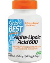 Doctors Best ALA 600 mg 60 weg.kaps.