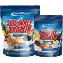 Zestaw IRONMAXX 100% Whey Protein 2350g Czekolada + 500g