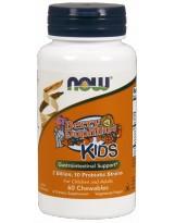 NOW FOODS BerryDophilus™ Kids 60 tab. do żucia