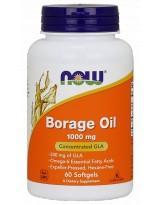 NOW FOODS Borage Oil 1000mg 60 kaps.