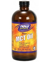 NOW FOODS MCT Oil 100% Pure 473 ml