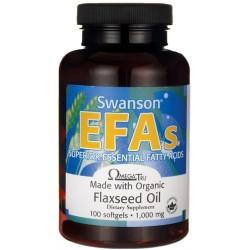 SWANSON EFA Flaxseed Oil 100 kaps.