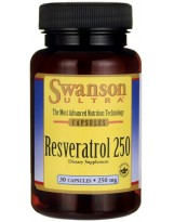 SWANSON Resveratrol 250 30 kaps.