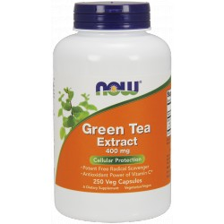 NOW FOODS Green Tea Extract 400 mg 250 kap.