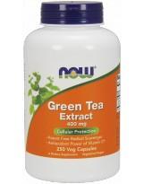 NOW FOODS Green Tea Extract 400mg 250 kap.