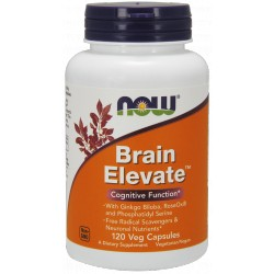 NOW Foods Brain Elevate 120 weg.kaps.