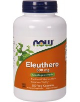 NOW FOODS Eleuthero 500mg 250 weg.kaps.