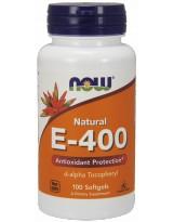 NOW Foods Witamina E-400 100 kaps.